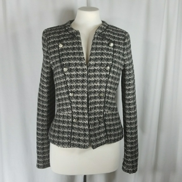 Mango Jackets   Coats   Mng By Tweed Jacket Size 6   Poshmark 530361fa5be6